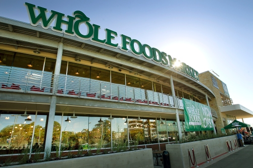 Whole Foods Market opened their much anticipated north Austin store at the Domain Wednesday January 15, 2014. Customers flocked to the grocery store which has quickly become a popular destination for north Austin shoppers. RALPH BARRERA / AMERICAN-STATESMAN